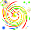 colorful swirl image